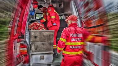 interior masina smurd pacient