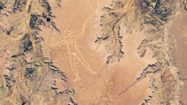 fotografie NASA Maree Man, Australia