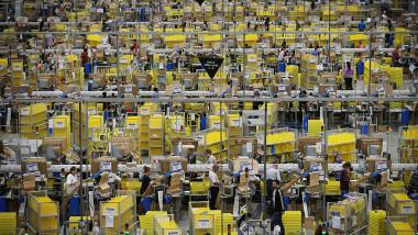 depozit compania Amazon