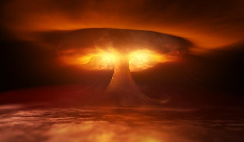 Ciupercă nucleară, armă atomică