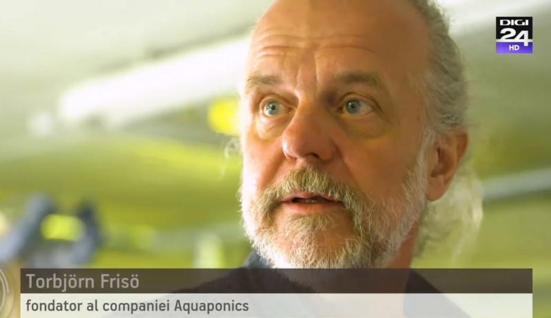 torbjorn friso fondatorul companiei aquaponics