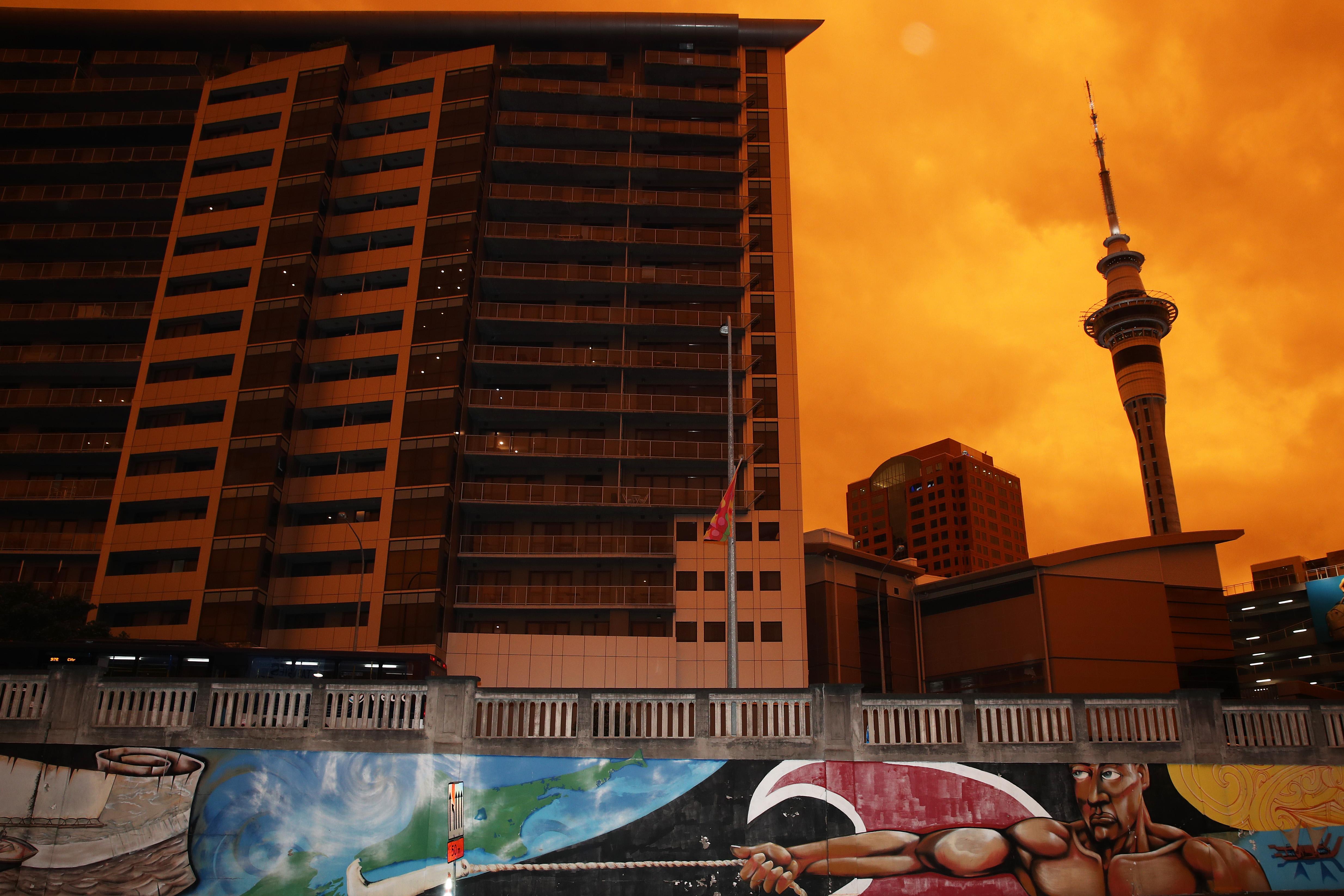 Smoke From Australian Bushfires Blankets Auckland