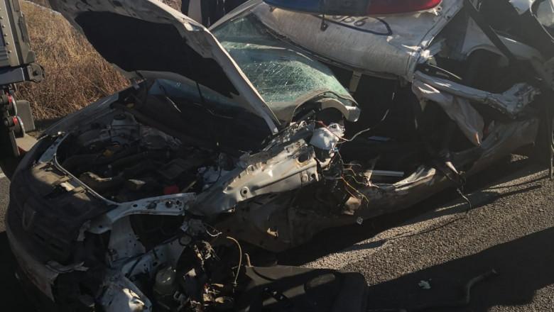 accident masina politie 150120 (1)