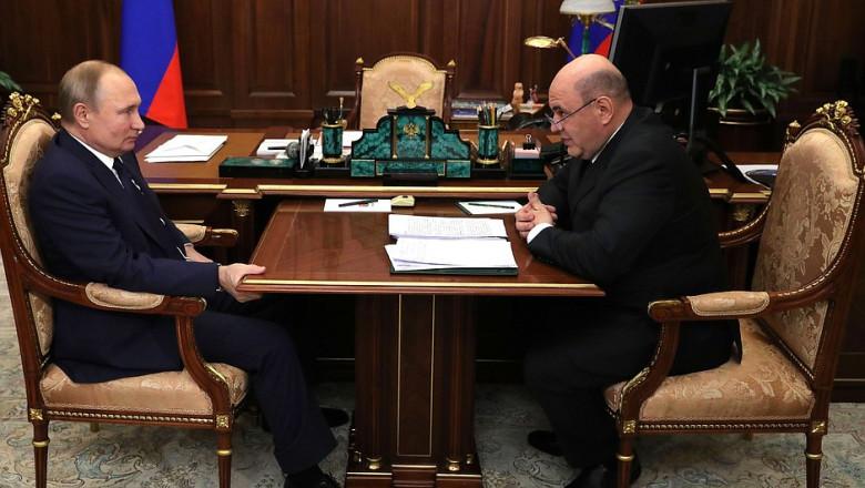 Mikhail Mishustin vladimir putin kremlin ru