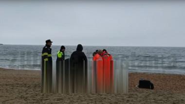 decedat pe plaja
