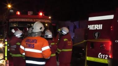 pompieri incendiu timisoara copii