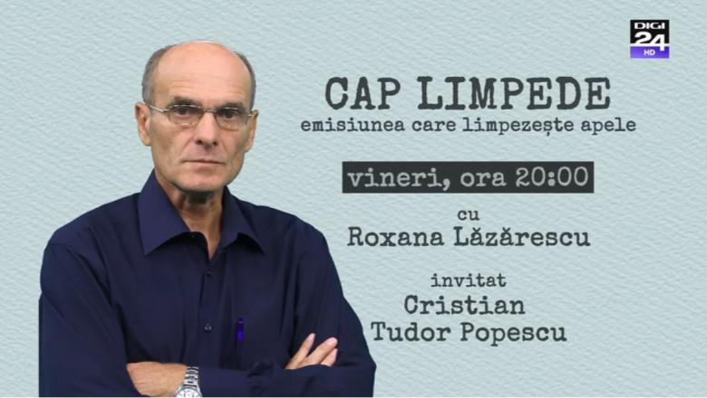 """""""Cap limpede"""" cu Cristian Tudor Popescu"""