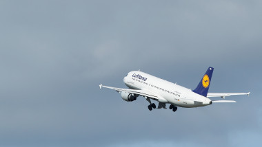BERLIN, GERMANY - SEPTEMBER 06: A Lufthansa passenger plane takes off from Tegel Airport on September 6, 2012 in Berlin, Germany. Lufthansa is bracing for a 24-hour, nationwide strike by cabin crew tomorrow that has already led to cancellations of two-thirds of all Lufthansa flights for the day. (Photo by Sean Gallup/Getty Images)