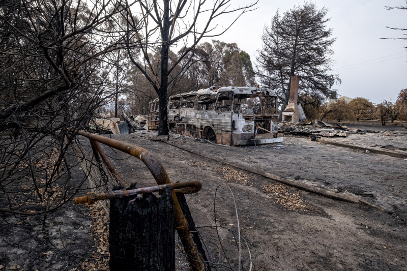 Firefighters Brace For Worsening Bushfire Conditions As State Of Disaster Is Extended In Victoria
