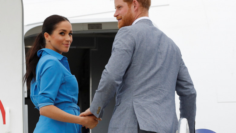 meghan markle printul harry The Duke And Duchess Of Sussex Visit Tonga - Day 2