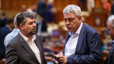 Marcel Ciolacu si Mihai Tudose