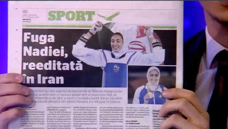 captura poveste sportiva iraniana