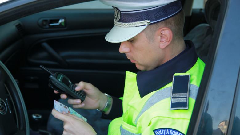 politie control trafic rutiera radar