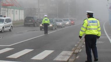politia romania ceata trafic_fb politia romana