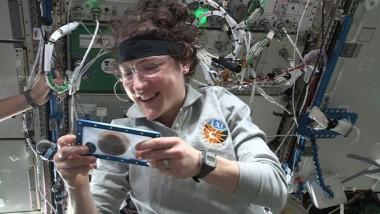 Astronautii au creat primele prajituri in spatiu, la bordul ISS