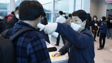 Health Screenings In South Korea For The Wuhan Coronavirus