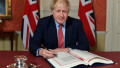 Boris Johnson a semnat acordul cu privire la Brexit