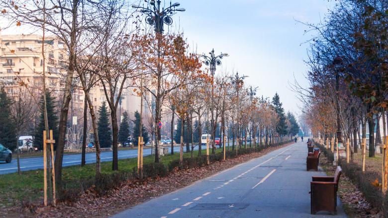 Bulevanrd din Bucuresti