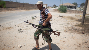Libyan Rebels Battle Gaddafi Forces For Control Of Tripoli
