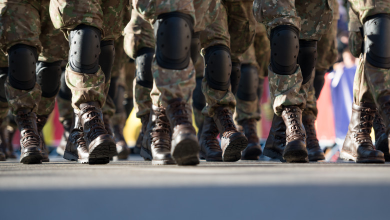 bocanci parada militara