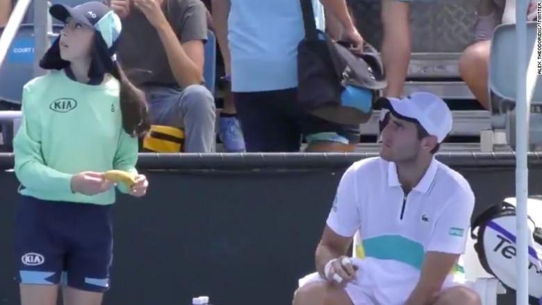 moment controversat la Australian Open