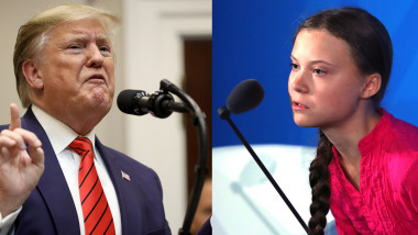 Donald Trump vs. Greta Thunberg