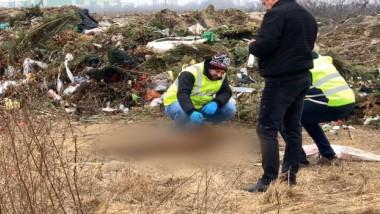 criminalisti cadavre cimitir Timisoara