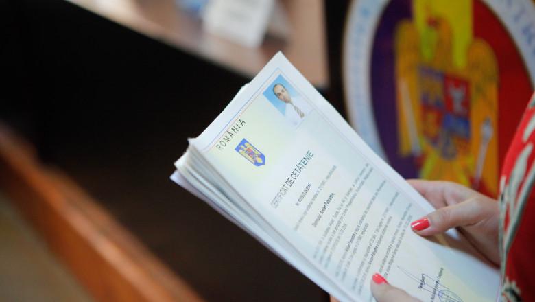 acordare cetățenie română