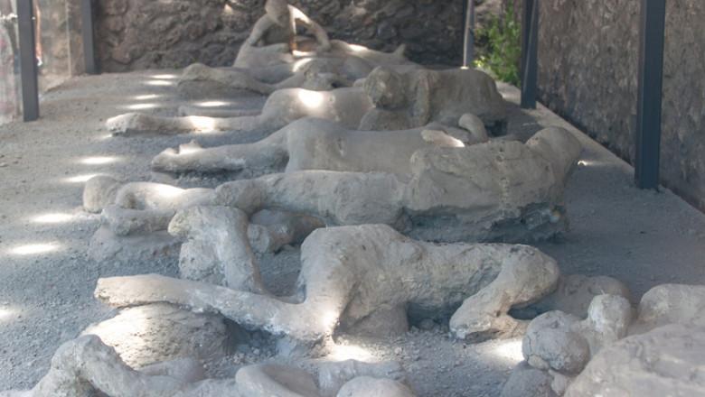 victime Pompeii