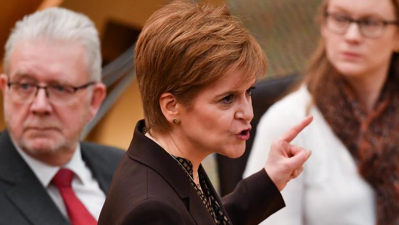Scottish Parliament Debates The Future Of Scotland