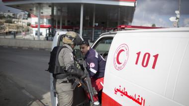 Palestinian Stabbing Attack Near Ramallah
