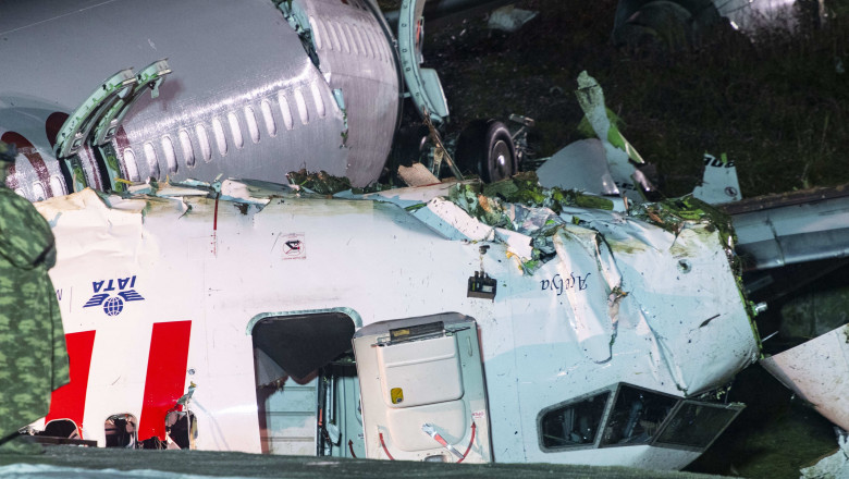 3 Dead And 179 Hurt As Jet Skids Off Runway - Istanbul