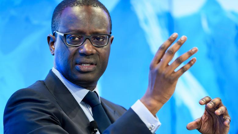 directorul executiv al Credit Suisse, Tidjane Thiam