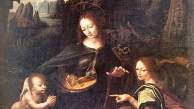 Leonardo da Vinci, Fecioara între stânci