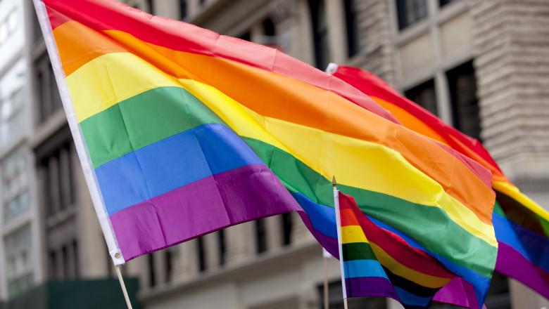 New York City Pride Parade - Flags