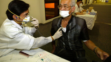 Protective Measures Taken Against Spread Of SARS In Asia