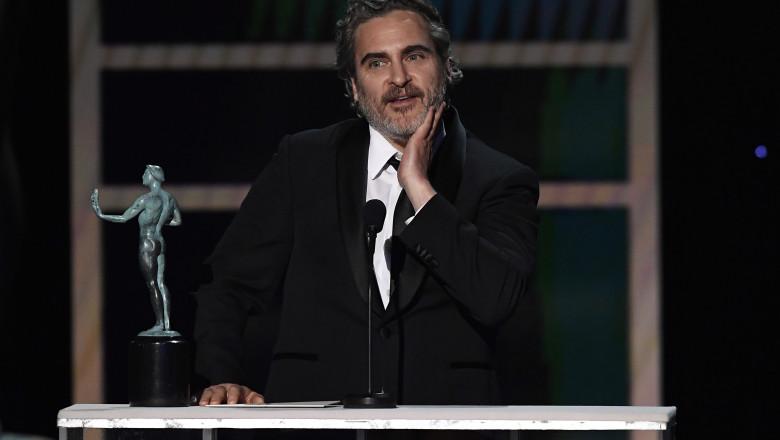 Joquin Phoenix 26th Annual Screen ActorsGuild Awards - Inside