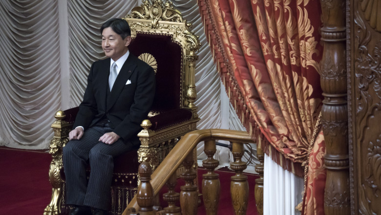 Japanese Emperor Naruhito Attends Opening of The National Diet Session