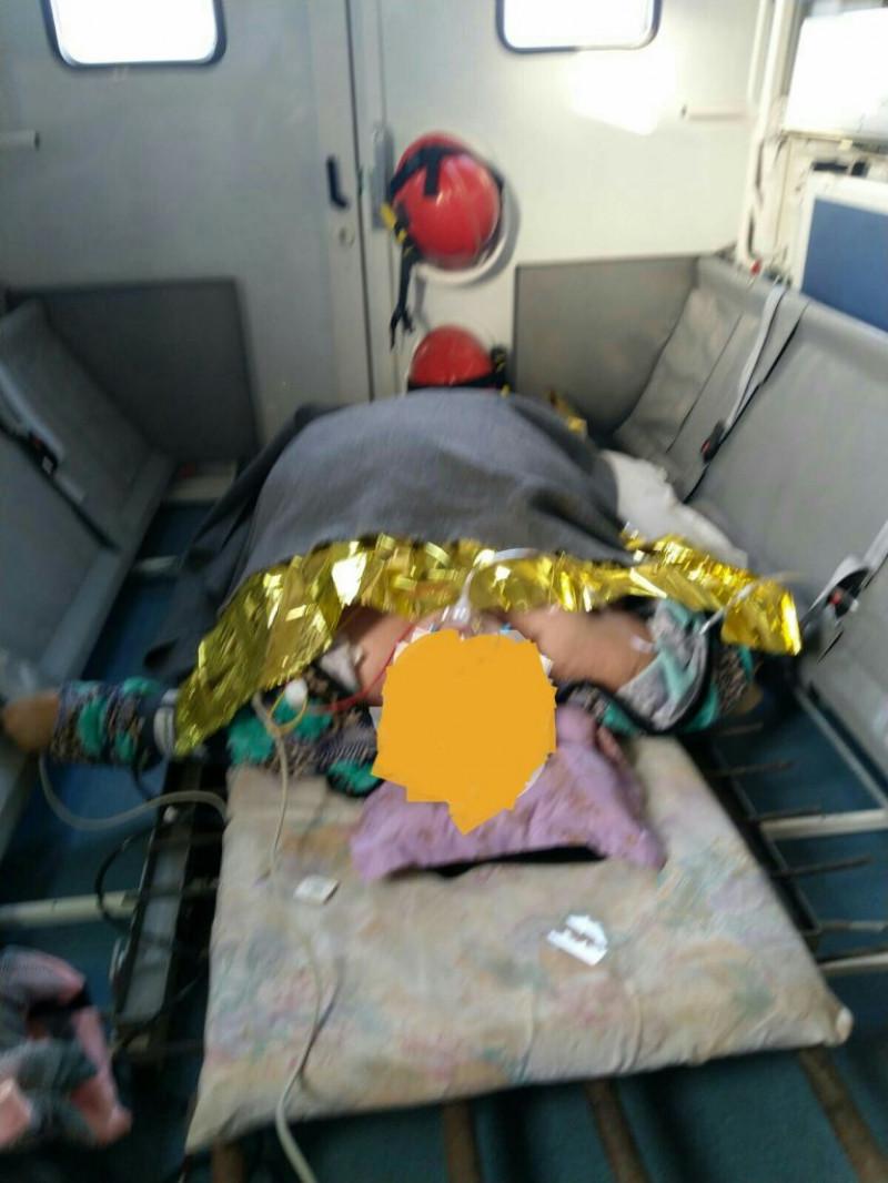 Pacienta supraponderala transportata la un spital din Valcea