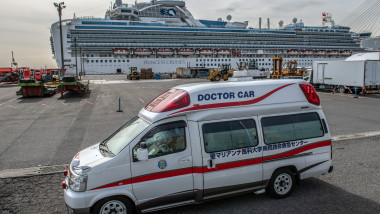 Japan Screens Cruise Ship Diamond Princess For The Wuhan Coronavirus