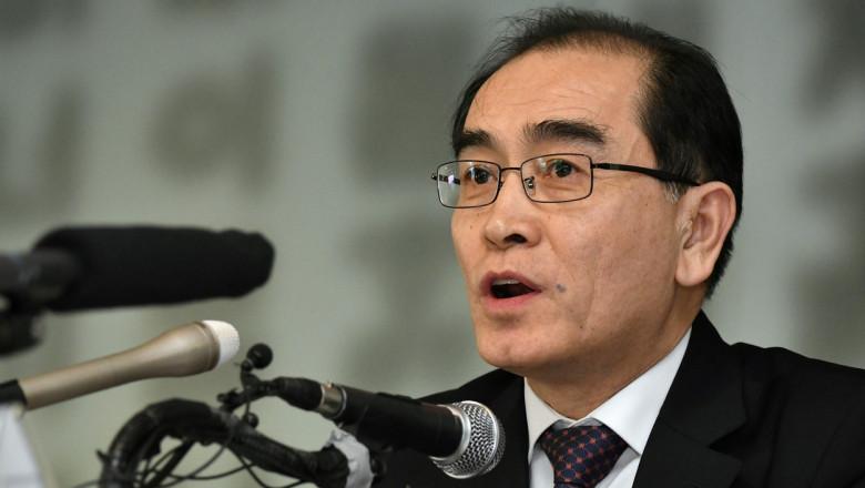 Thae Yong-ho este un fost diplomat nord coreean