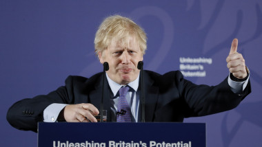 "Boris Johnson Makes Post-Brexit Speech ""Unleashing Britain's Potential"""