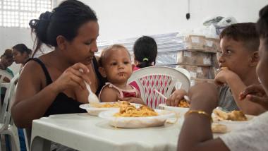 In Venezuela, multi copii mor de malnutritie din cauza crizei alimentare