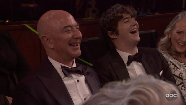 Jeff Bezos, in public, la Gala Premiilor Oscar