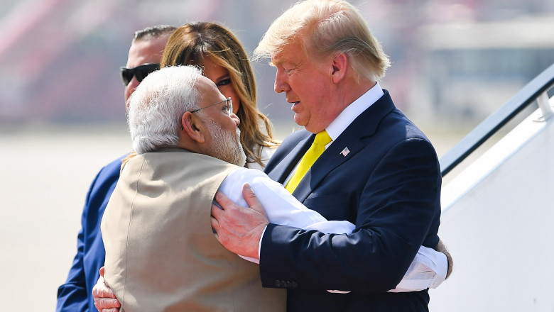 donald trump narendra modi india