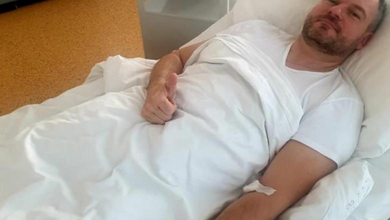 Peter Pellegrini a fost spitalizat in urma unei infectii respiratorii