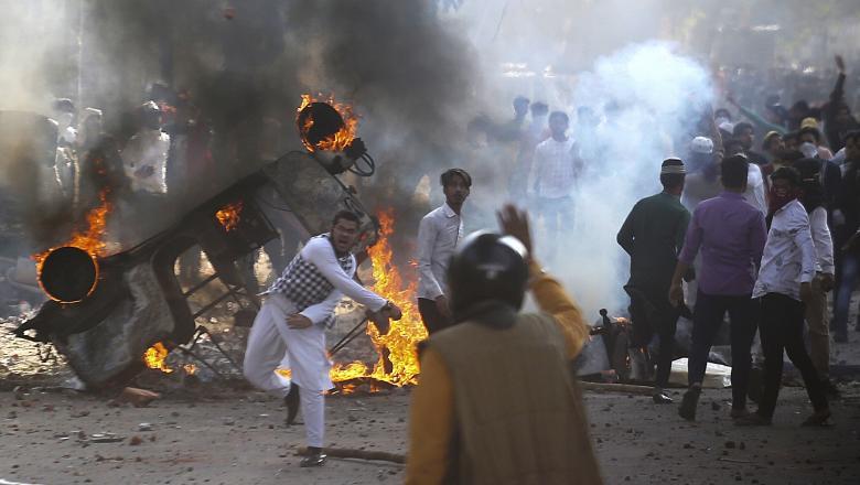 proteste violente india