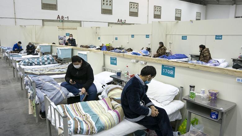 Coronavirus Outbreak, Wuhan, China - 10 Feb 2020