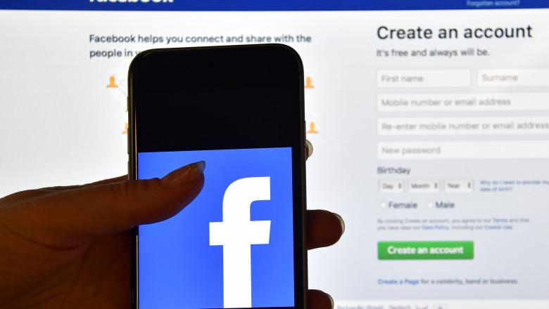 aplicație facebook, pagina facebook