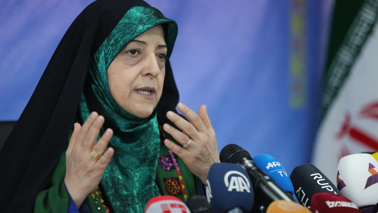 Masoumeh Ebtekar vicepresedinte iran profimedia-0411015769
